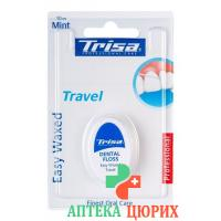 Trisa Easy Waxed Travel 10м