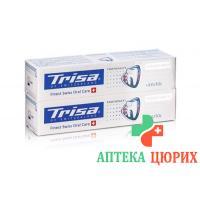 Trisa зубная паста Perfect White Duo 2x 75мл