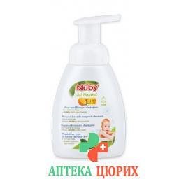 Nuby All Naturals Haar-korpershampoo 250мл