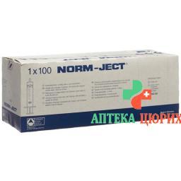 Hsw Spritze Norm-Ject 10мл 2-teilig Zentrisch 100 штук