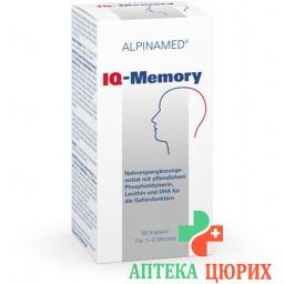 Альпинамед IQ-Память 60 капсул