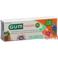Gum Sunstar Junior Zahnpasta Tutti-Frutti 50мл