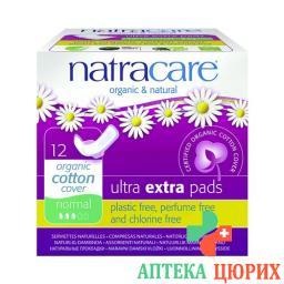Natracare Damenbinden Flugel Ultra Ext Nor 12 штук