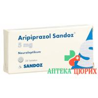 Арипипразол Сандоз 5 мг 28 таблеток