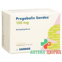 Прегабалин Сандоз 150 мг 56 капсул