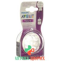 Avent Philips Naturnah-Sauger Neugeborene 2 штуки