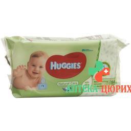Huggies Feuchttucher Natural Care 56 штук