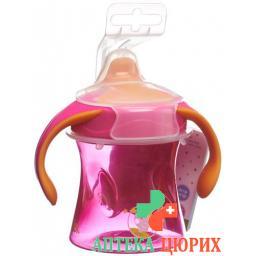 Bibi Trinklernflasche Schnabel Girly 220мл