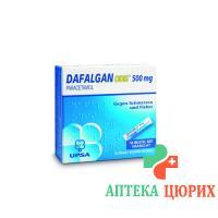Дафалган Одис гранулы 500 мг 16 пакетиков