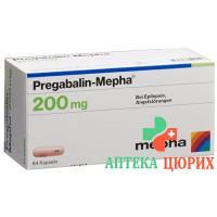 Прегабалин Мефа 200 мг 84 капсулы