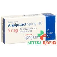 Арипипразол Спириг HC 5 мг 28 таблеток