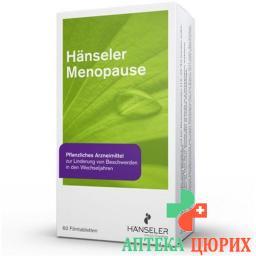 ХэнсМенопауза 4 таблетки покрытые оболочкой