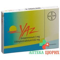 Джес28 таблеток покрытых оболочкой