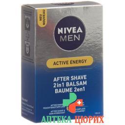 Nivea Men Active Energy After Sha 2in1 Bal 100мл