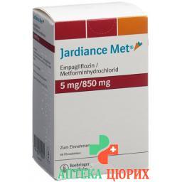 Джардинс Мет 5/850 мг 60 таблеток покрытых оболочкой