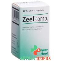 Zeel Comp. в таблетках, доза 50 штук