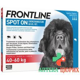 Frontline Spot On Hund XL Liste D 3x 4.2мл