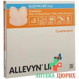 Allevyn Life Silik-Schaumv 25x25.2см Heel 5 штук