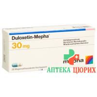 Дулоксетин Мефа 30 мг 28 капсул