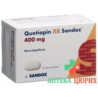 Кветиапин XR Сандоз 400 мг 60 ретард таблеток