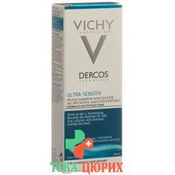 Vichy Dercos шампунь Ultra-Sensitiv 200мл