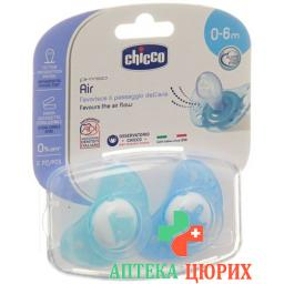 CHICCO PHYS SAUG BLUE 0-6M IDF