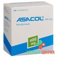 Асакол 400 мг 100 таблеток покрытых оболочкой