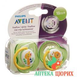 Avent Philips Beruhigungssauger Unisex 18m+ Grun