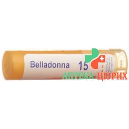 Boiron Belladonna в гранулах C 15 4г