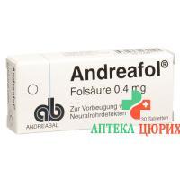 Андреафол 30 таблеток