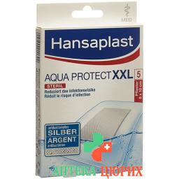 Hansaplast Med Aqua Protect XXL Wundverbande 5 штук