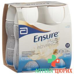 Ensure Plus Advance Liquid Vanille 4x 220ml
