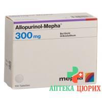 Аллопуринол Мефа 300 мг 100 таблеток