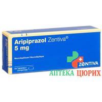 Арипипразол Зентива 5 мг 28 таблеток