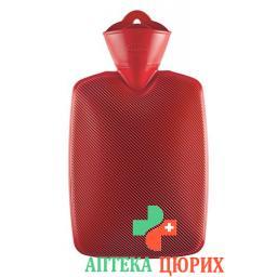 emosan Warmeflasche Halblamelle Rot 1.8л