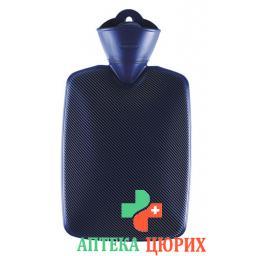 emosan Warmeflasche Halblamelle Blau 1.8л