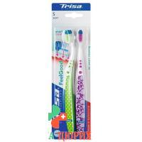 Trisa Feelgood Smart Clean зубная щётка Duo Soft