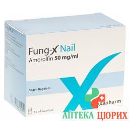 Fung-x Nail Nagellack 50мг/ml бутылка 2.5мл