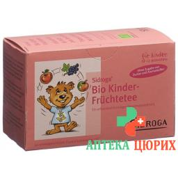Sidroga Bio Kinder Fruchtetee 20 штук