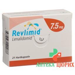 Ревлимид 7,5 мг 21 капсула