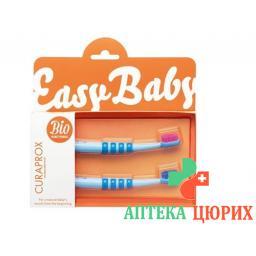 Curaprox Baby зубная щётка Blau Doppelpack 2 штуки