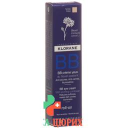 Klorane BB Augencreme Roll On 15мл