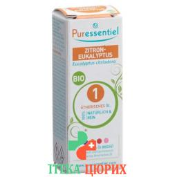 Puressentiel Zitrone-Eukalyptus эфирное масло Bio 10мл