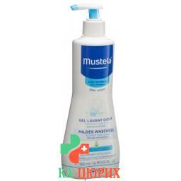 Mustela Mildes гель мытья для нормальной кожи диспенсер 500мл