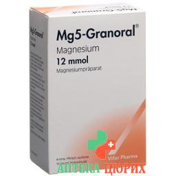 Mg5-granoral в гранулах 12 Mmol Pfirs-Aprik в пакетиках 10 штук