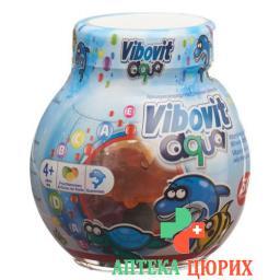 Вибовит Аква 50 фруктовых жевательных конфет