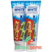 Colgate Sensat White Zahnpasta Duo 2x 75мл