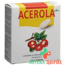 Acerola Plus Vitamin C Lutsch-Taler 32 штуки