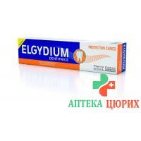 Elgydium Kariesschutz зубная паста в тюбике 75мл