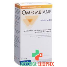 Omegabiane Saatleindotteroel в капсулах блистер 80 штук